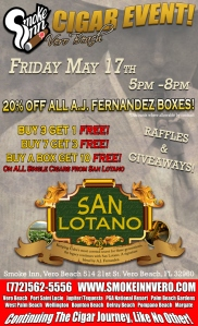 Vero Beach San Lotano Cigar Event-Smoke Inn Cigars Vero Beach